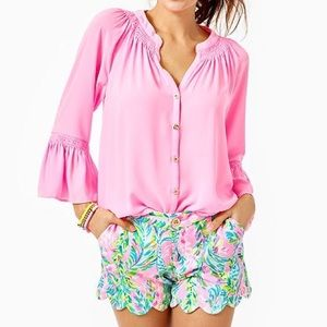 NWT Lilly Pulitzer Buttercup Knit Shorts